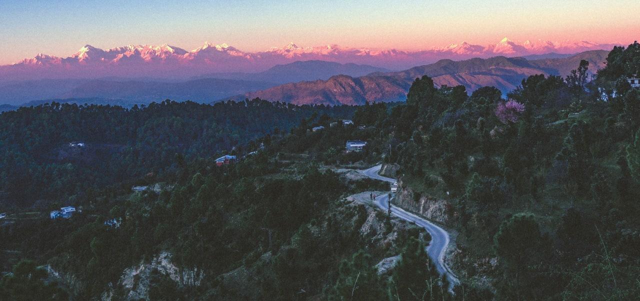 A Picture of Chatola Kumaon Mukteshwar